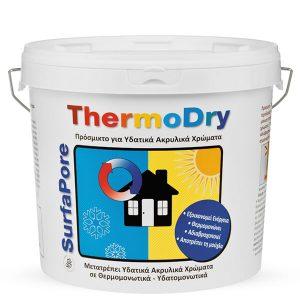 Добавки за боя за постигане топлоизолационен и водоотблъскващ ефект