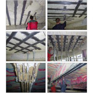 Усилване и възстановяване на стоманобетонови конструкции